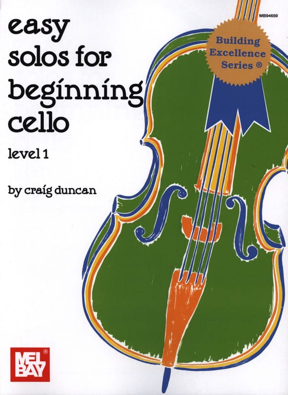 Craig Duncan - Easy Solos for beginning Cello - Level 1 - Partition - di-arezzo.com
