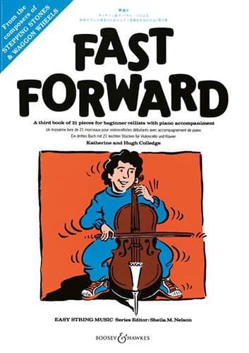 Fast Forward - Violoncelle et Piano - Partition - laflutedepan.com