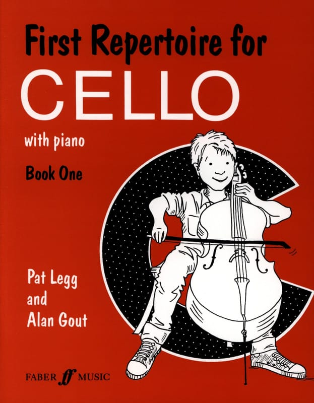 Legg Pat / Gout Alan - First repertoire for Cello - Book 1 - Partition - di-arezzo.co.uk