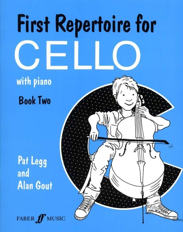 Legg Pat / Gout Alan - First repertoire for Cello - Book 2 - Partition - di-arezzo.co.uk