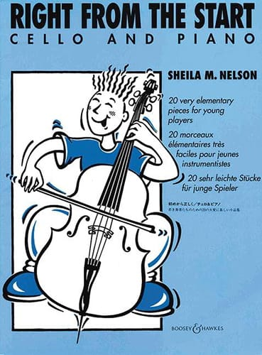 Right from the Start - Cello - Sheila M. Nelson - laflutedepan.com