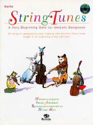 Samuel Applebaum - String Tunes - Cello - Partition - di-arezzo.co.uk