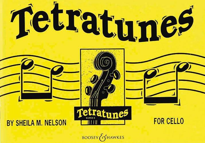 Sheila M. Nelson - Tetratunes - Cello - Partition - di-arezzo.fr