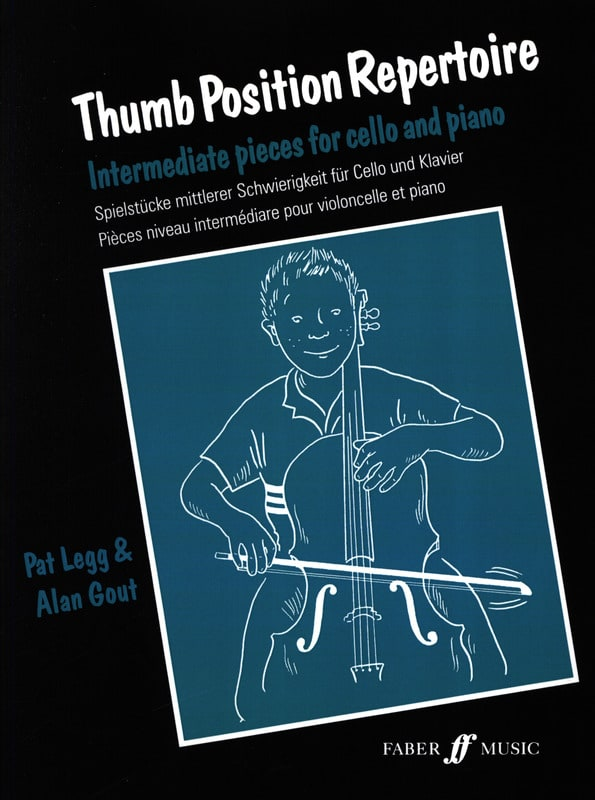Thumb position repertoire - Legg Pat / Gout Alan - laflutedepan.com