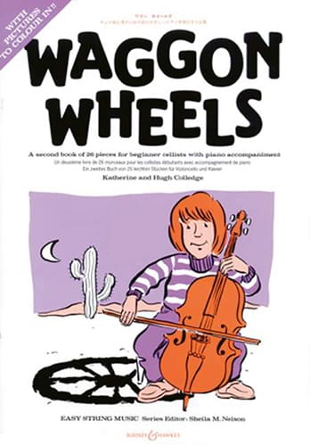 - Waggon Wheels - Cello and Piano - Partition - di-arezzo.co.uk