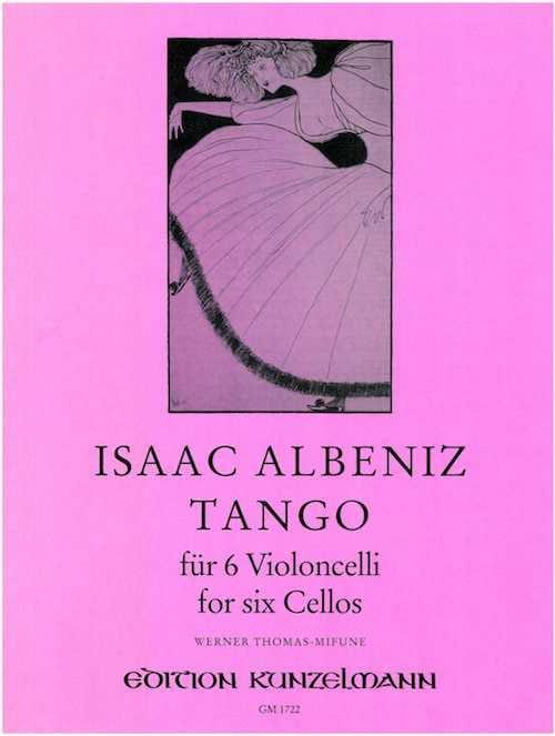 Tango - 6 Violoncelles - ALBENIZ - Partition - laflutedepan.com
