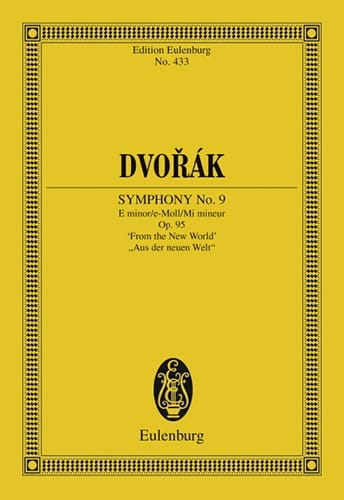 DVORAK - Sinfonie No. 9 E-Moll Mi Min. - Driver - Partition - di-arezzo.co.uk
