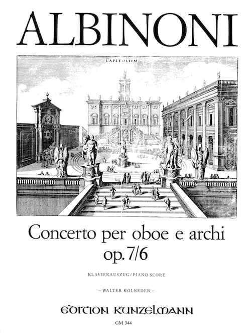 Concerto per Oboe op. 7 n° 6 - ALBINONI - Partition - laflutedepan.com