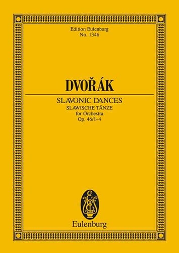 DVORAK - Slawische Tänze, Op. 46 N ° 1-4 - Driver - Partition - di-arezzo.co.uk