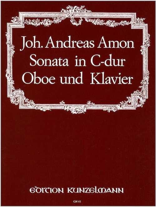 Sonata in C Dur - Oboe Klavier - laflutedepan.com