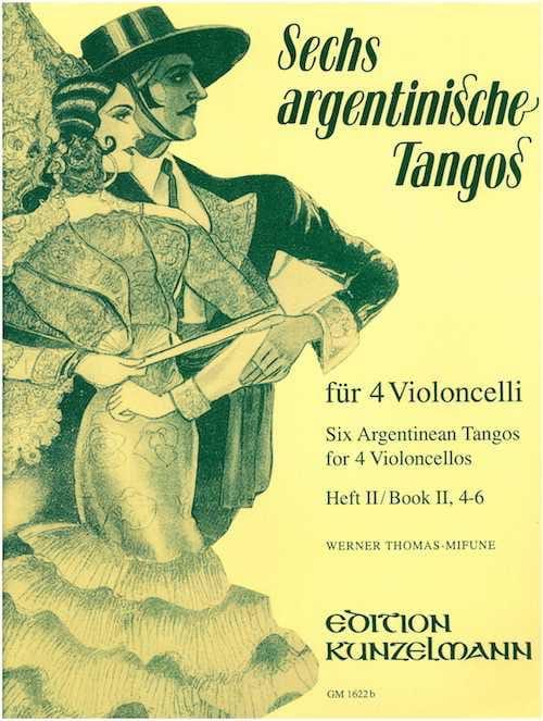 6 Argentinische Tangos - Heft 2 4-6 - laflutedepan.com
