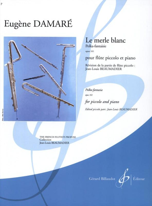 Eugène Damaré - Le Merle Blanc Op. 161 - Partition - di-arezzo.fr