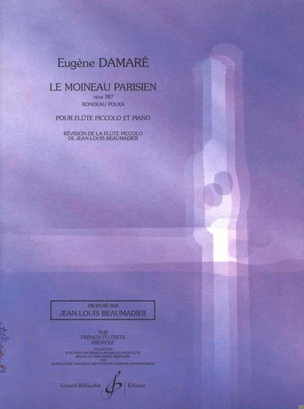 Eugène Damare - Le moineau parisien op. 387 - Partition - di-arezzo.fr