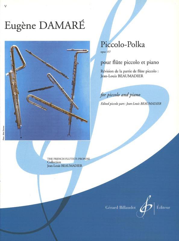 Eugène Damaré - Piccolo-Polka op. 157 - Partition - di-arezzo.fr