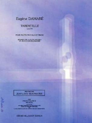 Eugène Damaré - Tarentelle op. 391 - Partition - di-arezzo.fr