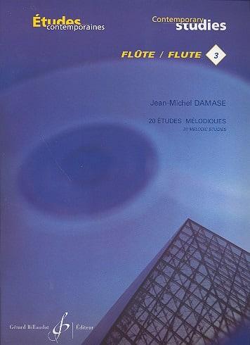 Jean-Michel Damase - Melodic Studies Vol. 3 - Flute - Partition - di-arezzo.com
