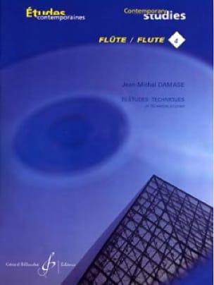 Jean-Michel Damase - 25 Technical Studies - Flute - Partition - di-arezzo.com