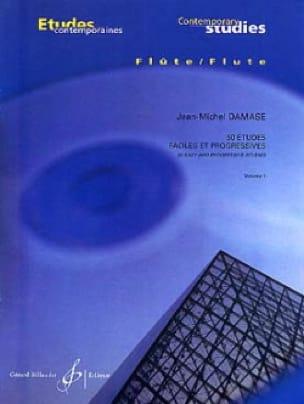 Jean-Michel Damase - 50 Easy and Progressive Studies Volume 1 - Partition - di-arezzo.com