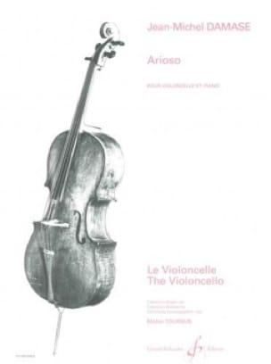 Arioso - Jean-Michel Damase - Partition - laflutedepan.com