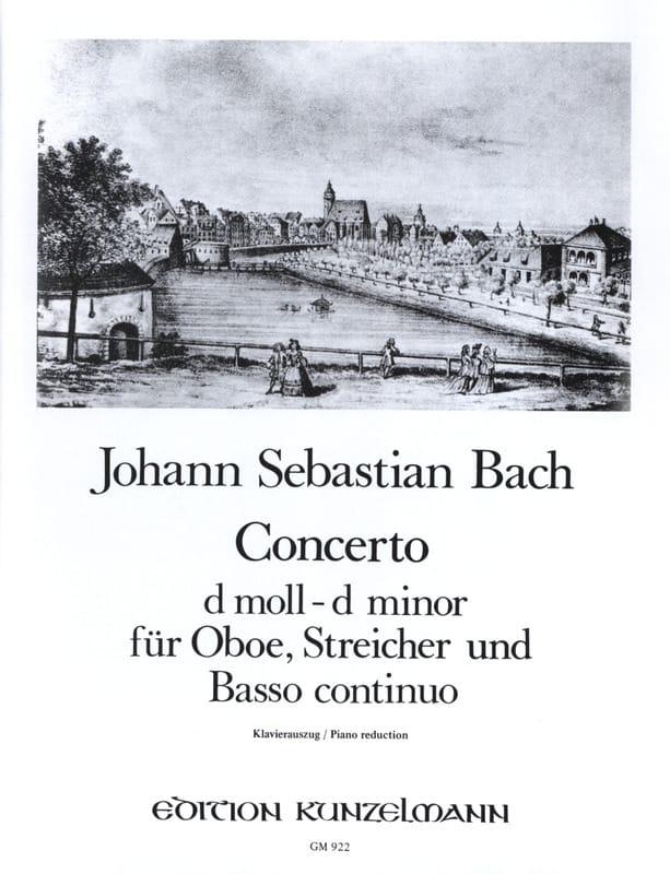 Konzert D-Moll, BWV 1059 - Oboe Klavier - BACH - laflutedepan.com