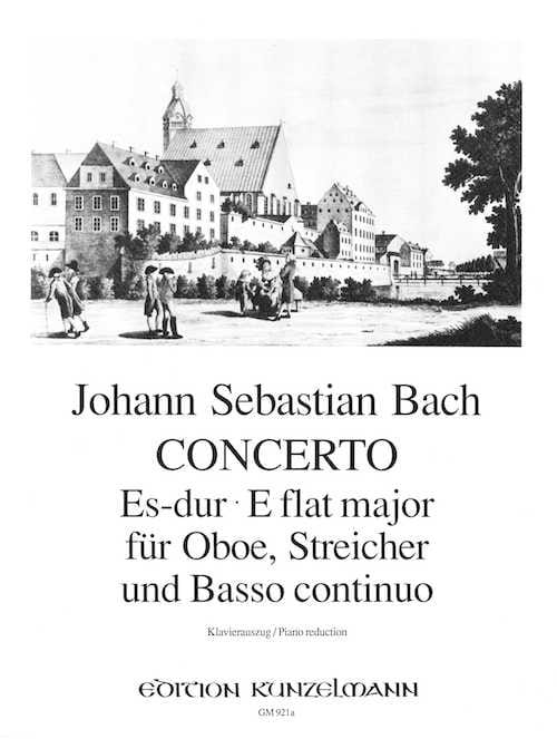 BACH - Konzert Es-Dur - Oboe Klavier - Partition - di-arezzo.co.uk