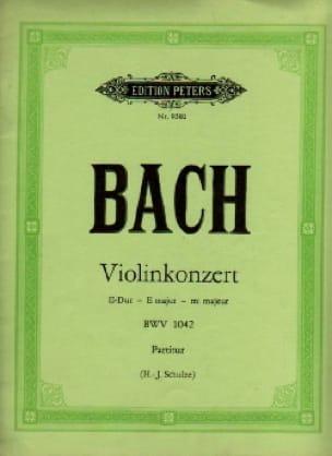 Konzert E-Dur BWV 1042 - Violine - Conducteur - laflutedepan.com