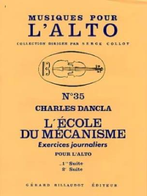 L'école du mécanisme - Volume 1 - Alto - DANCLA - laflutedepan.com
