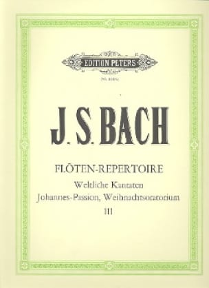 BACH - Flöten-Repertoire - Bd. 3 - Partition - di-arezzo.co.uk
