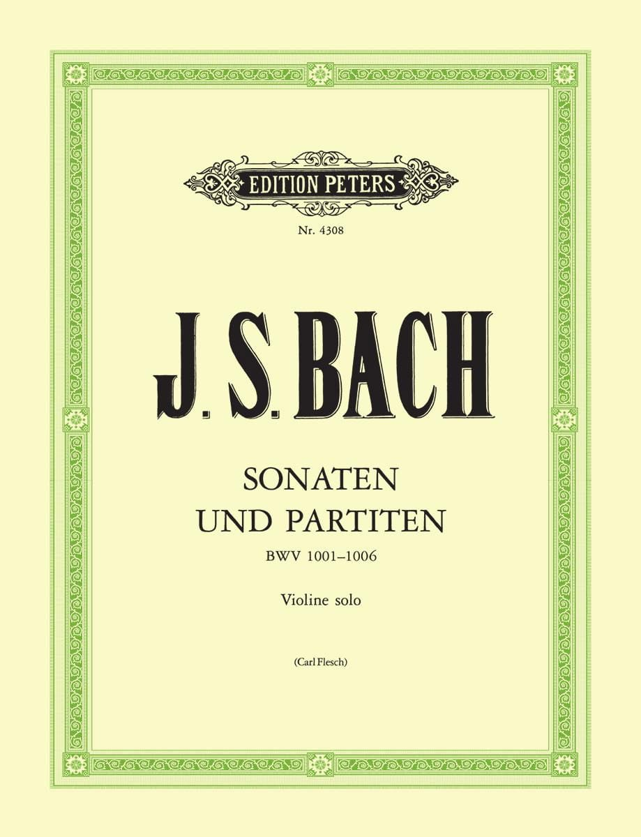 BACH - Sonate e partite, revisione C. Carne - Partition - di-arezzo.it