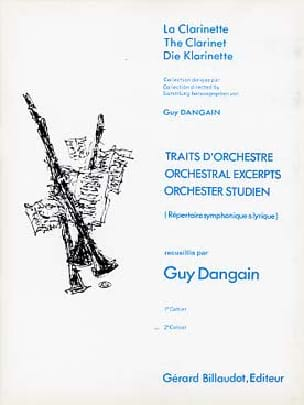Traits D'orchestre Volume 2 - Guy Dangain - laflutedepan.com