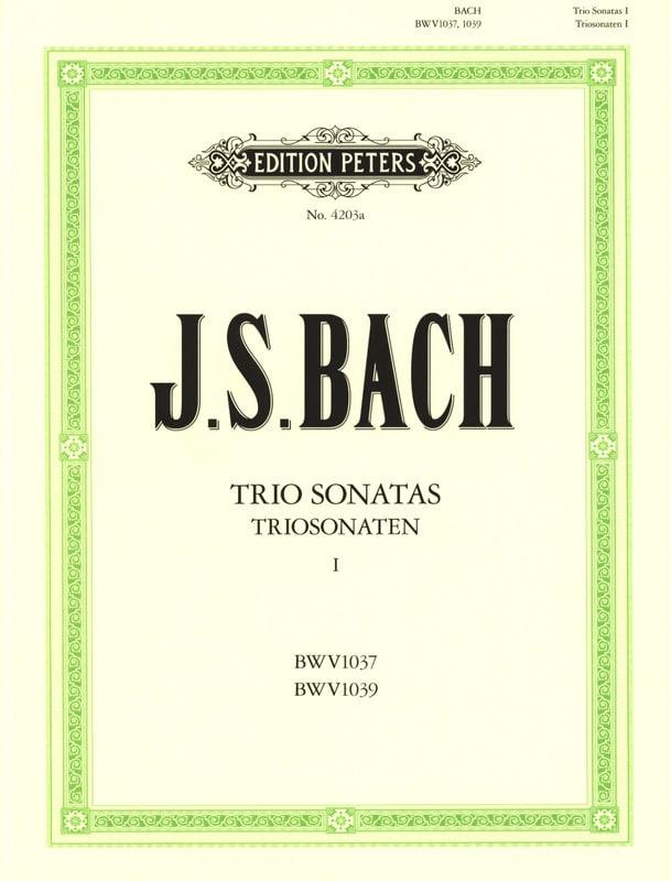 BACH - Triosonaten - Bd. 1: C-Dur BWV 1037 - G-Dur BWV 1039 - 2 Violinen u. Bc - Partition - di-arezzo.com