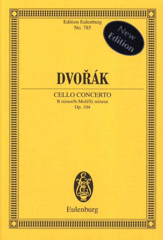 Violoncello-Konzert h-moll, op. 104 B 191 h-moll - laflutedepan.com