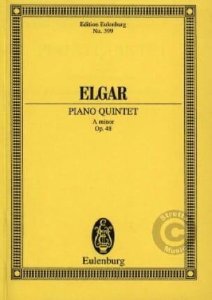 Klavier-Quintett a-moll - ELGAR - Partition - laflutedepan.com