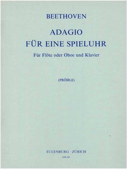 Adagio für eine Spieluhr - Flöte Klavier - laflutedepan.com