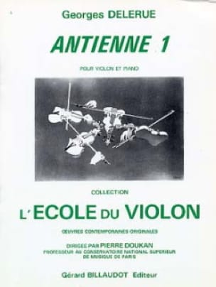 Antienne 1 - Georges Delerue - Partition - Violon - laflutedepan.com