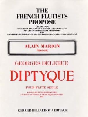 Diptyque - Georges Delerue - Partition - laflutedepan.com