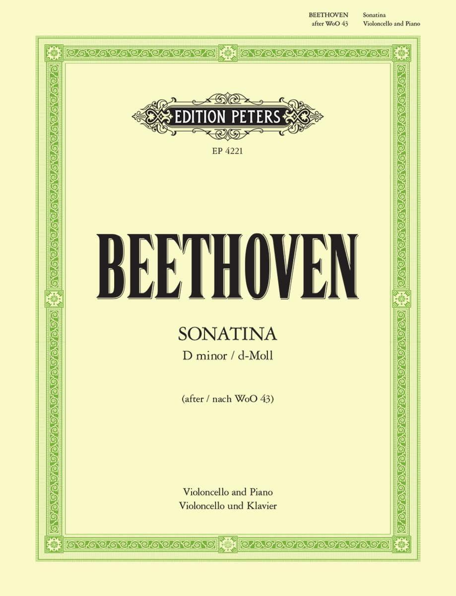 BEETHOVEN - Sonatina D minor - Partition - di-arezzo.co.uk