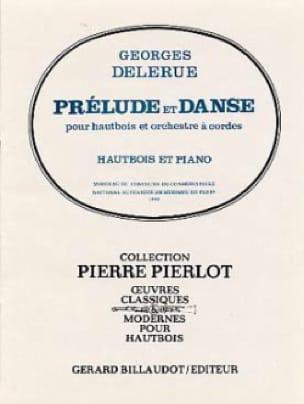 Prelude et Danse - Hautbois/Piano - Georges Delerue - laflutedepan.com