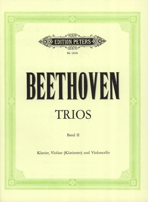 BEETHOVEN - Klaviertrios - Bd. 2 Kl. Vl o. Kl Vc - Stimmen - Partition - di-arezzo.co.uk