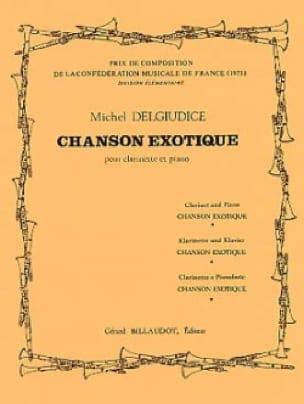 Chanson exotique - Michel Delgiudice - Partition - laflutedepan.com