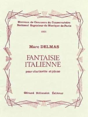 Fantaisie italienne - Marc Delmas - Partition - laflutedepan.com