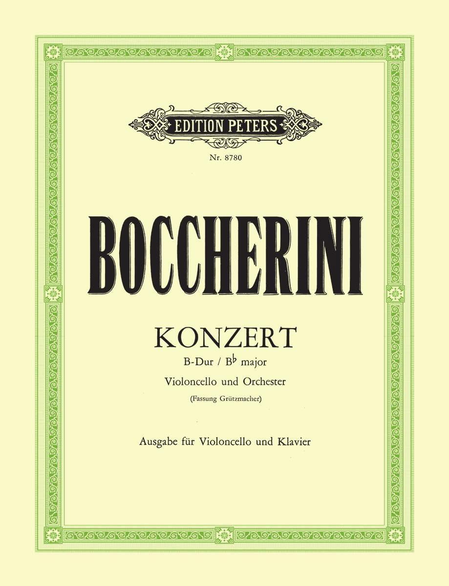 Konzert B-Dur G.482 Fassung Grützmacher - laflutedepan.com