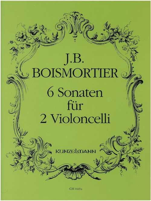 BOISMORTIER - 6 Sonaten für 2 Violoncelli - Partition - di-arezzo.com
