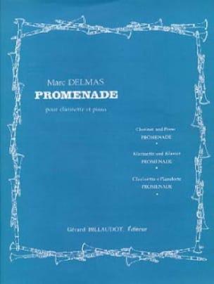 Promenade - Marc Delmas - Partition - Clarinette - laflutedepan.com