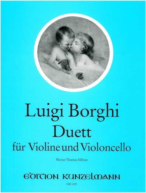Duett - Violine und Violoncello - Luigi Borghi - laflutedepan.com