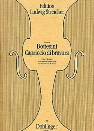 Capriccio di Bravura - BOTTESINI - Partition - laflutedepan.com