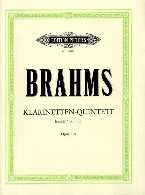 Klarinetten-Quintett h-moll op. 115 -Stimmen - laflutedepan.com