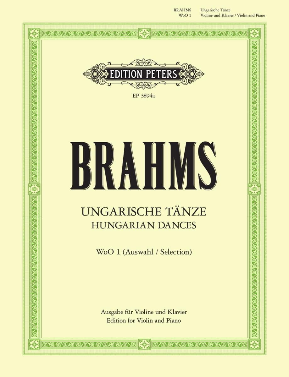 BRAHMS - Ungarische Tänze WoO 1 - Partition - di-arezzo.es