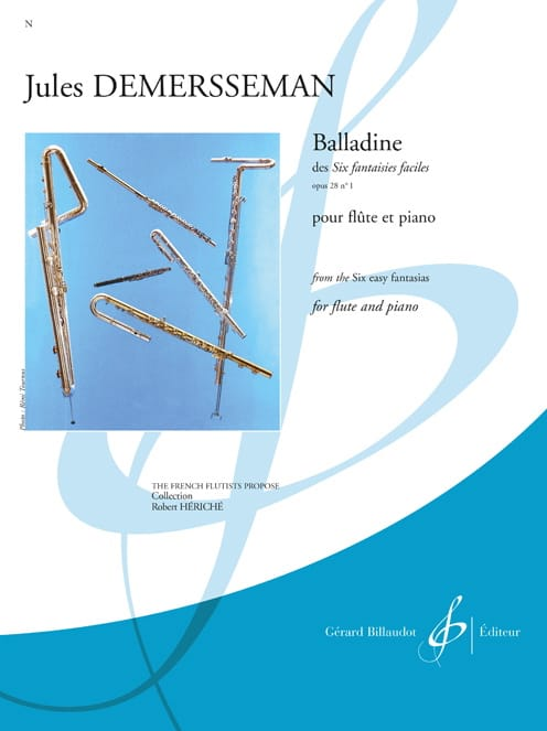 Jules Demersseman - Balladine op. 28 n ° 1 - Partition - di-arezzo.co.uk