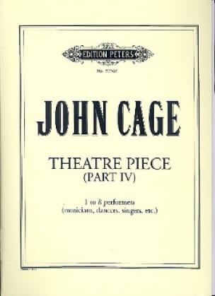 John Cage - Theater Pieces - Part 4 - Partition - di-arezzo.com
